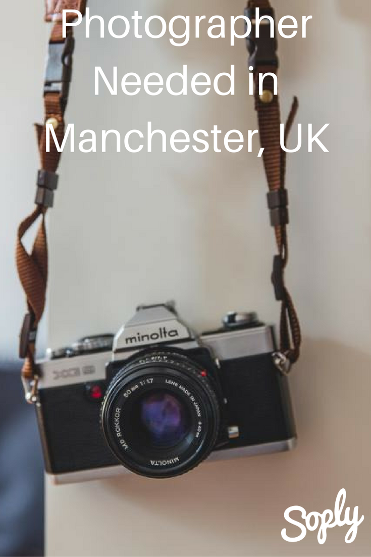 Photographer Needed For A Business In Manchester Uk See The Photography Job And Speak To The Client By Clicking The Pin