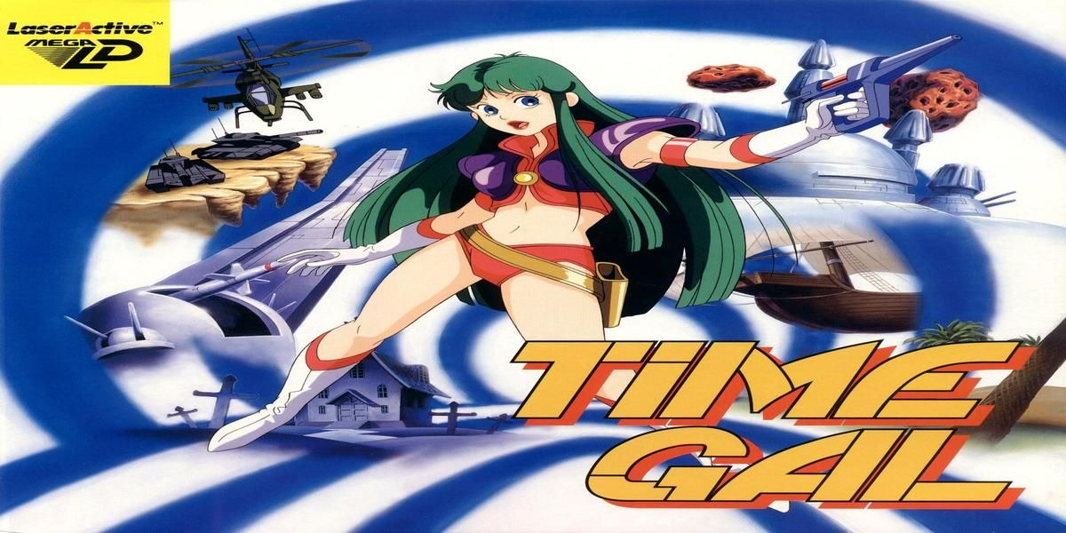 Taito's 1985 FMV Laserdisc Game TIME GAL Out Now On Amiga CD32