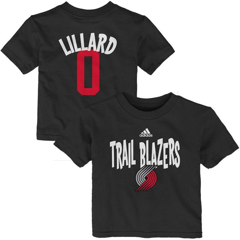 Damian Infant Blazers Lillard amp; Name T Number Portland Adidas Trail pq6PrUwp