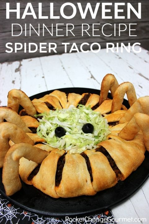 Halloween food for kids spider taco ring recipe dinner ideas halloween food for kids spider taco ring recipe dinner ideas spider and dinners forumfinder Gallery