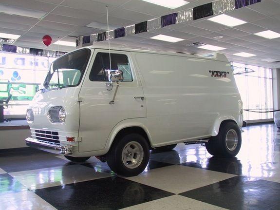 1966 Ford Econoline E150 Passenger Custom Vans Vintage Vans Vans