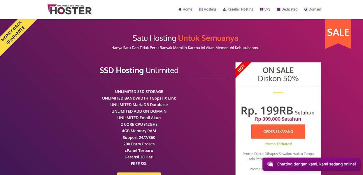 Web Hosting Murah Unlimited Ssd Di Indonesia Di 2020 Lol Website