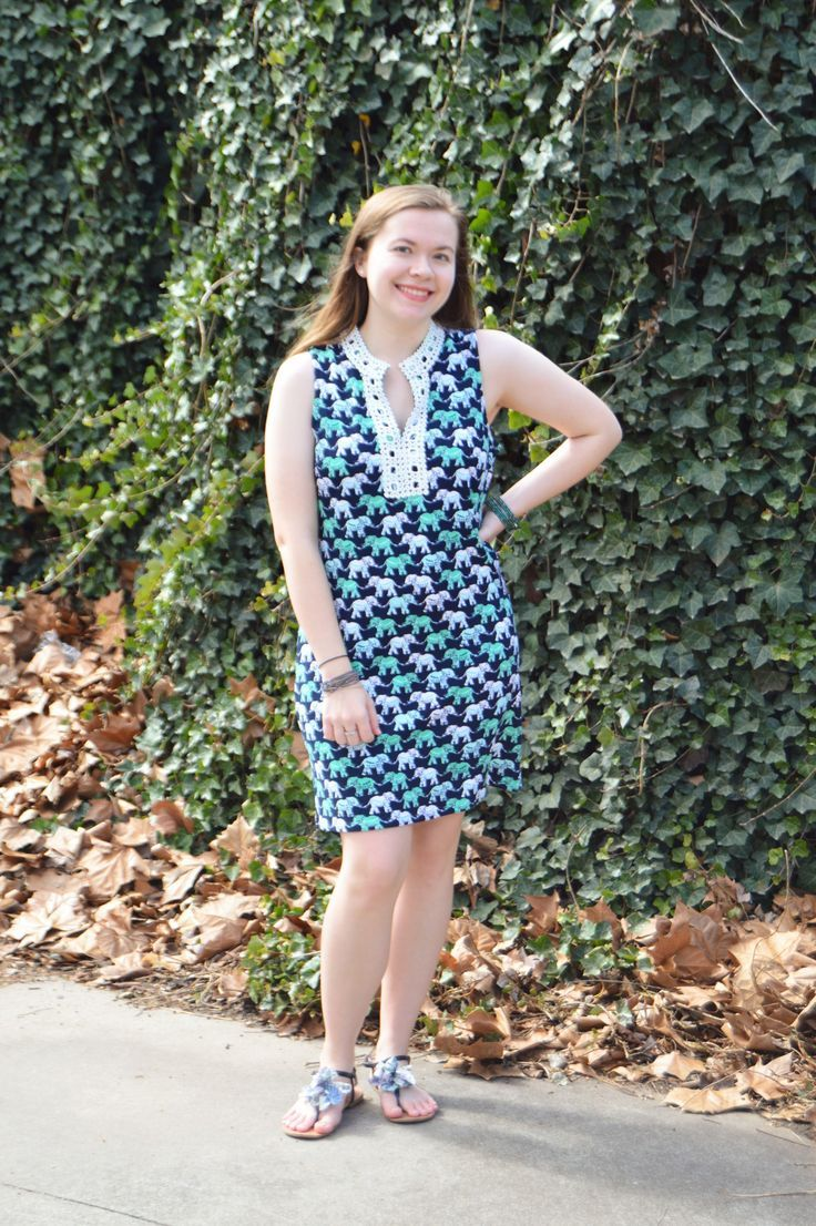 An Elephant Print Dress & An Embroidered Collar | Raine In The City