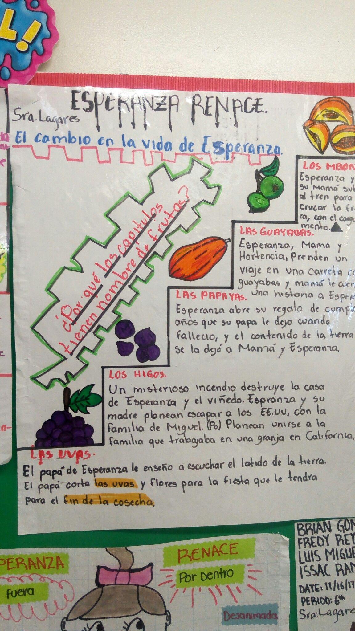 Esperanza Renace Mrs Lagares Class Activity Porque Los