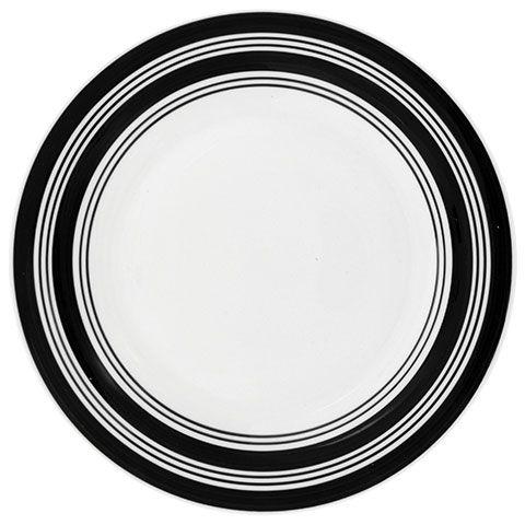 Bulk Royal Norfolk Ceramic Dinner Plates with Black Stripes 10.5 in. at DollarTree.com  sc 1 st  Pinterest & Bulk Royal Norfolk Ceramic Dinner Plates with Black Stripes 10.5 in ...