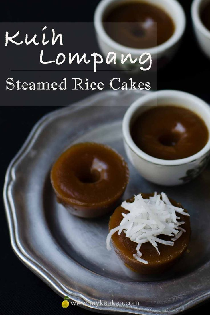 Kuih lompang kuih kosui steamed rice cakes glutenfree
