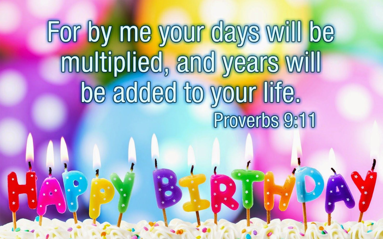 Self My Scripture Message Birthday