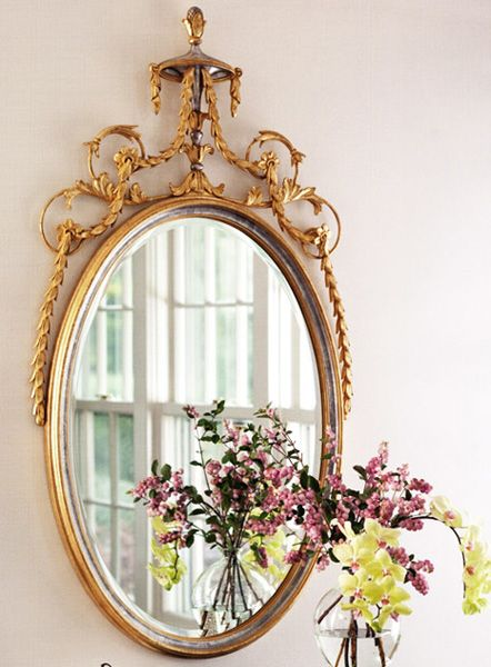 Decorating with mirrors adam style decorative mirrors for Adam style mirror