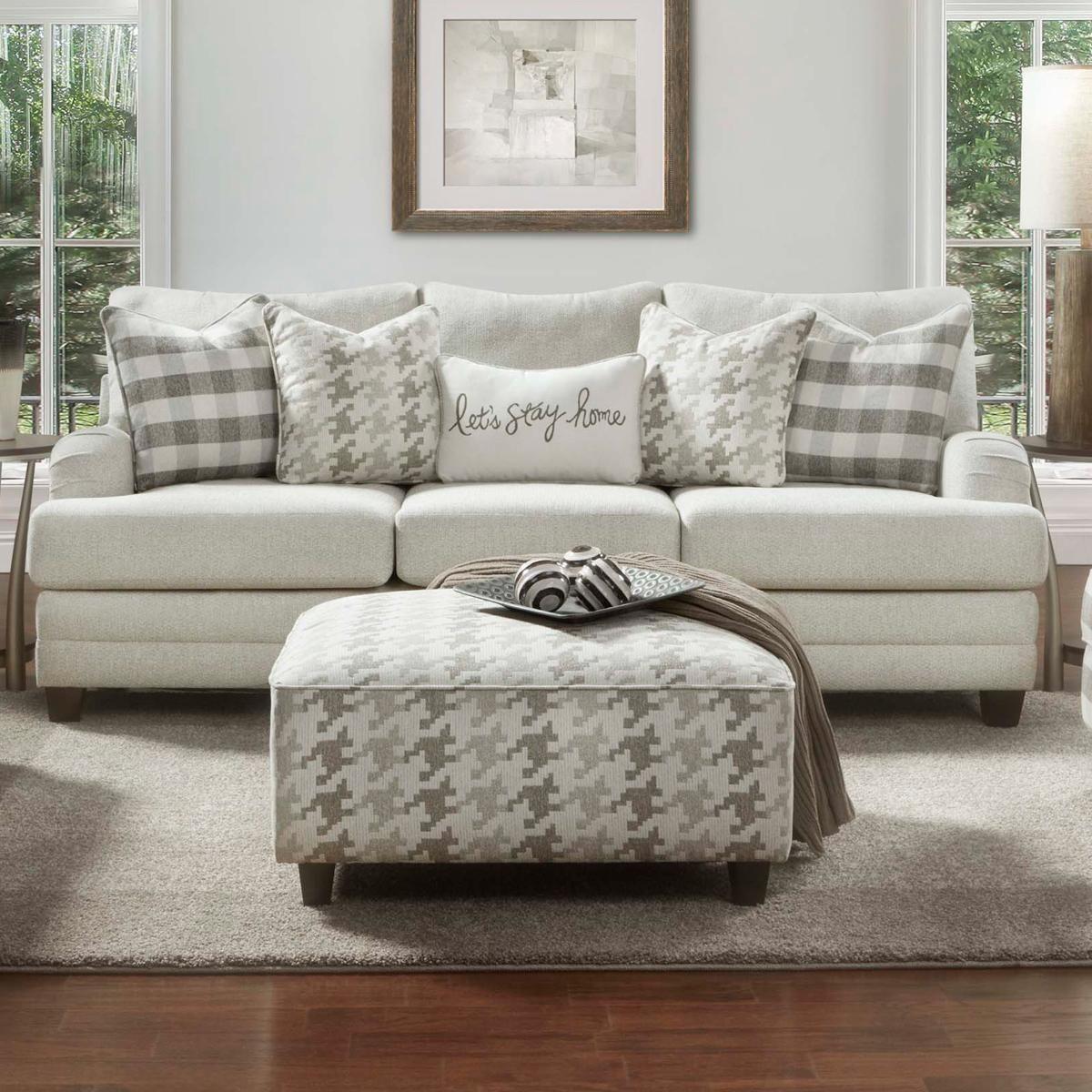 Xenia Sofa In Basic Wool Nebraska Furniture Mart Furniture