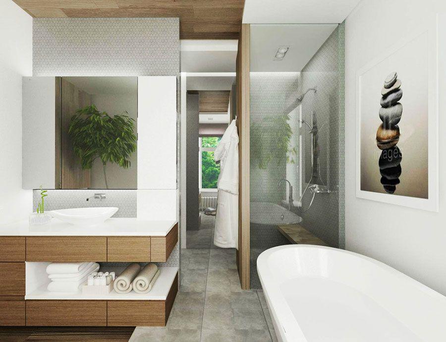 Bagno di lusso moderno 18 | Bagni di design | Pinterest