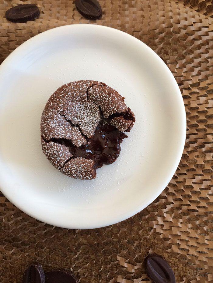 Mi-cuit au chocolat noir du Plaza