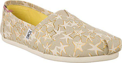 TOMS 10009729 Tan/Gold Starfish Größe 41 Tan/Gold Starfish mH2Kyl9fR