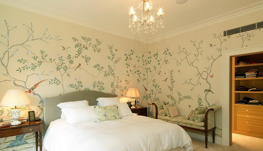 Chnoiserie wallpaper toronto from Yrmural Studio,Good price with ...