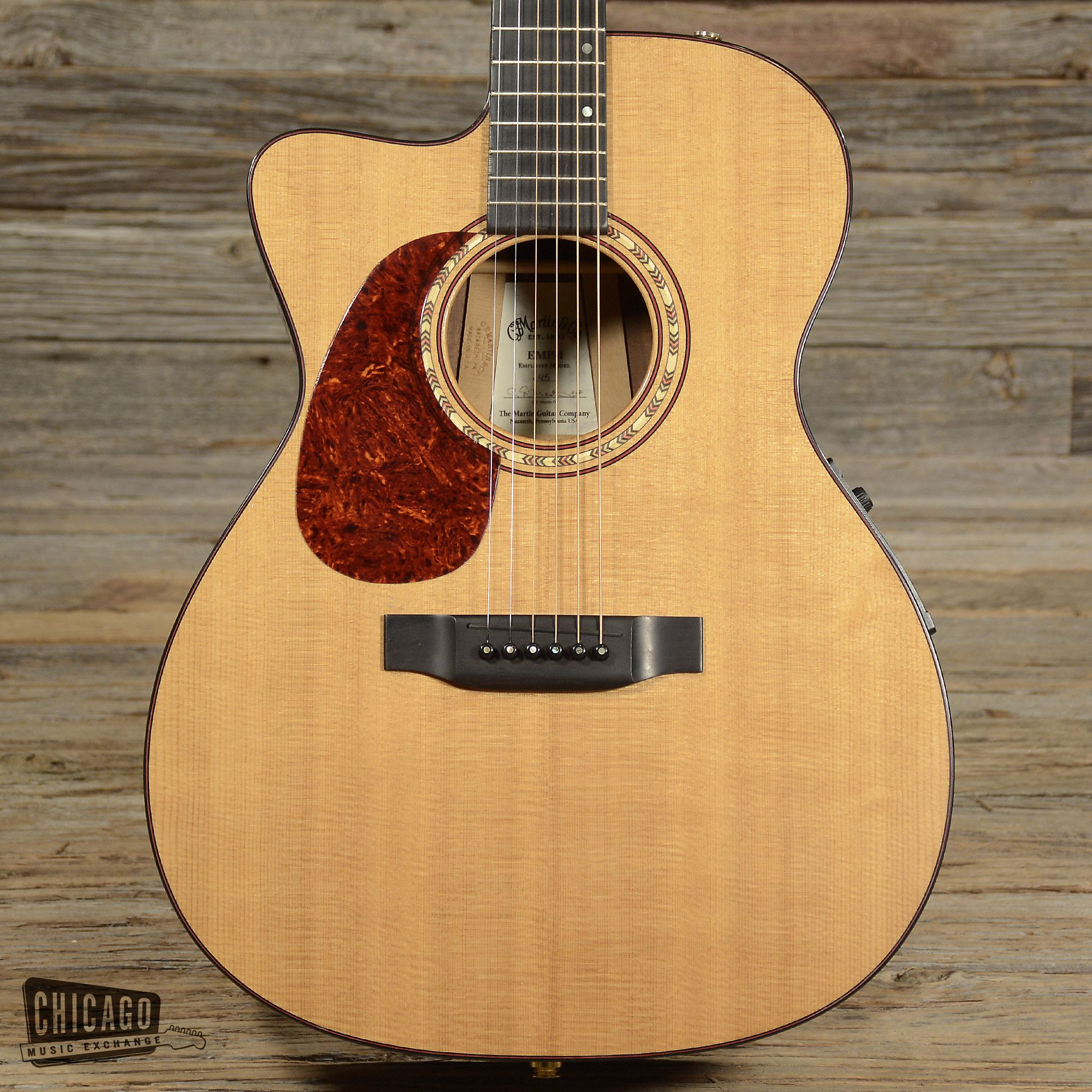 Martin EMP-1 Acoustic Natural Lefty USED (s622)