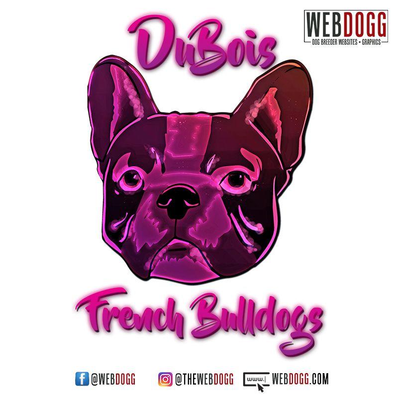 Dubois French Bulldogs French Bulldog Breeder Logo Design