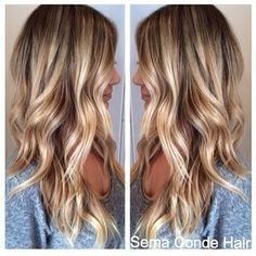 Love This Color Thinking About Darkening My Blonde With Some Low Lights