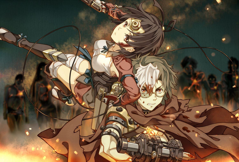 Mumei Ikoma Koutetsujou No Kabaneri Iron Fortress Anime Images Awesome Anime