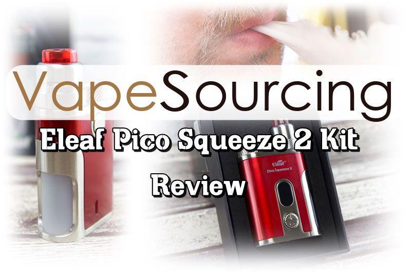 Eleaf Pico Squeeze 2 Kit Review E Zigarette Vape Und Dampfen