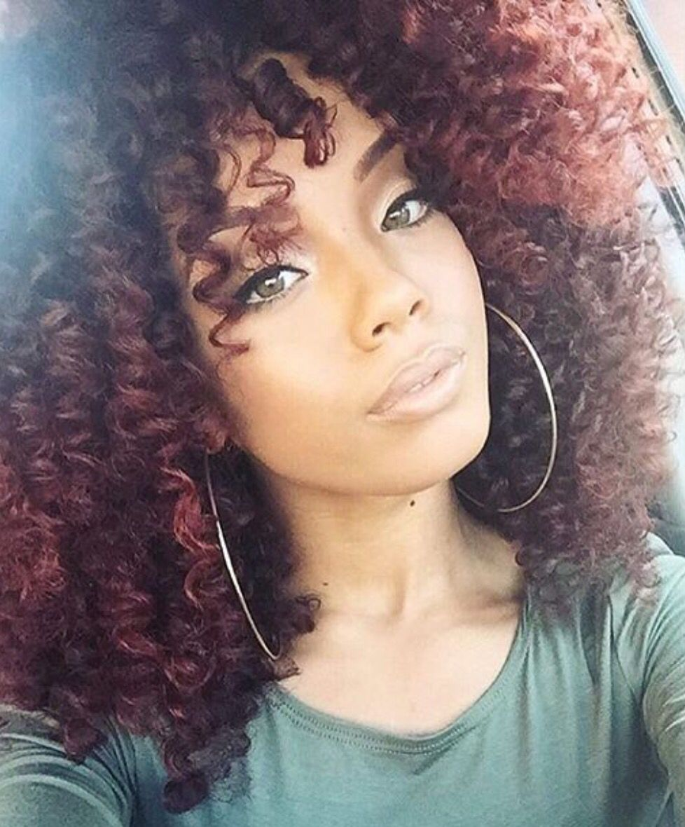 Pin de bevie em big beautiful hair pinterest cachos cabelo