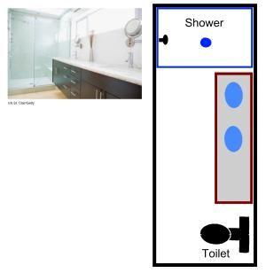 Visual Guide to 15 Bathroom Floor Plans: Plans For a Long, Narrow Bathroom
