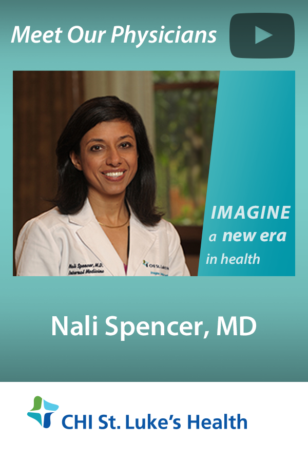 Nali Spencer, MD specializes in Primary Care and Internal
