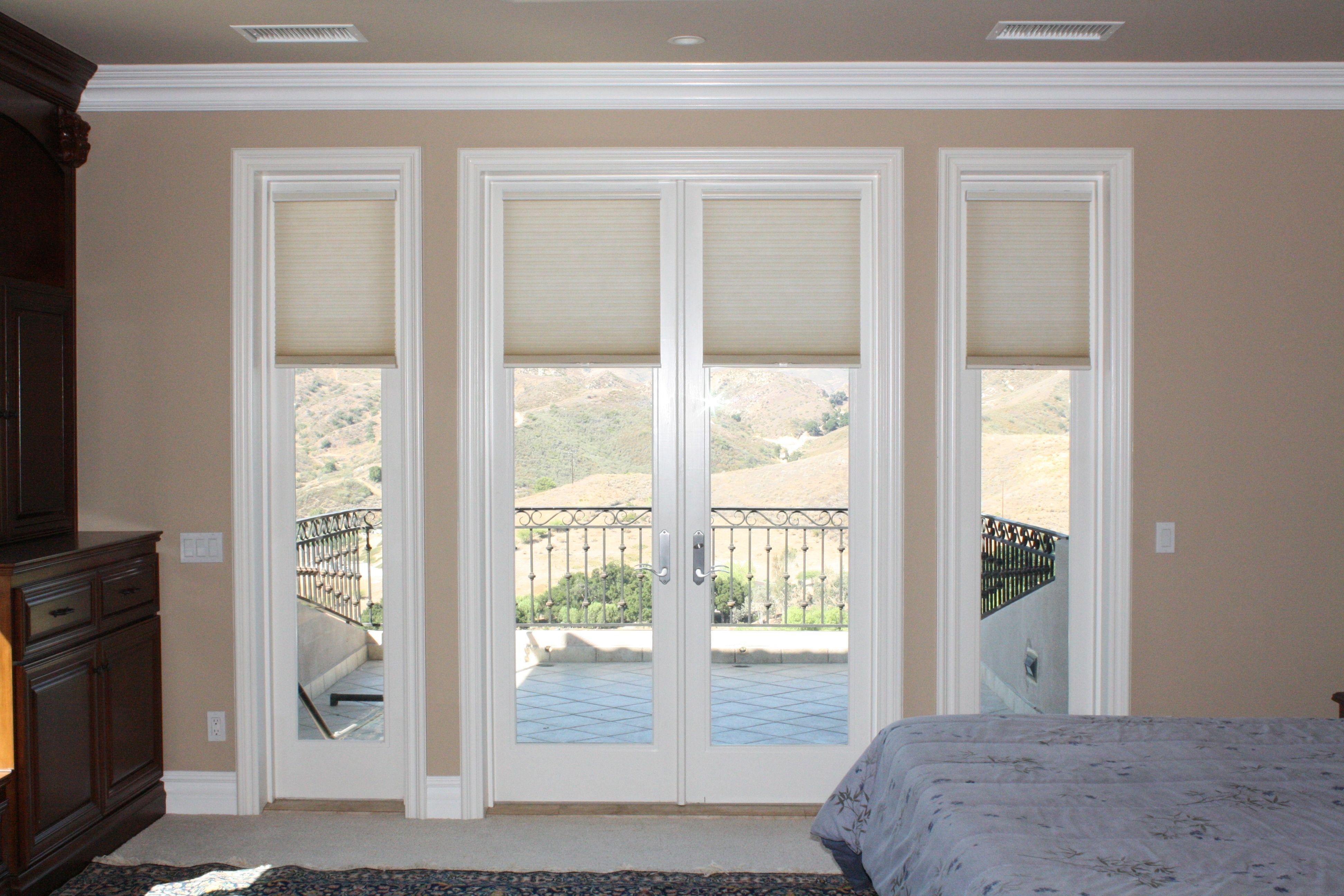 Cellular blinds for patio doors patio decor pinterest cellular