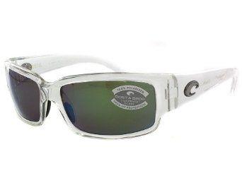 a16671fdec28 Costa del Mar Caballito Crystal Green Glass 580 Polarized Sunglasses Costa  Del Mar.  164.00