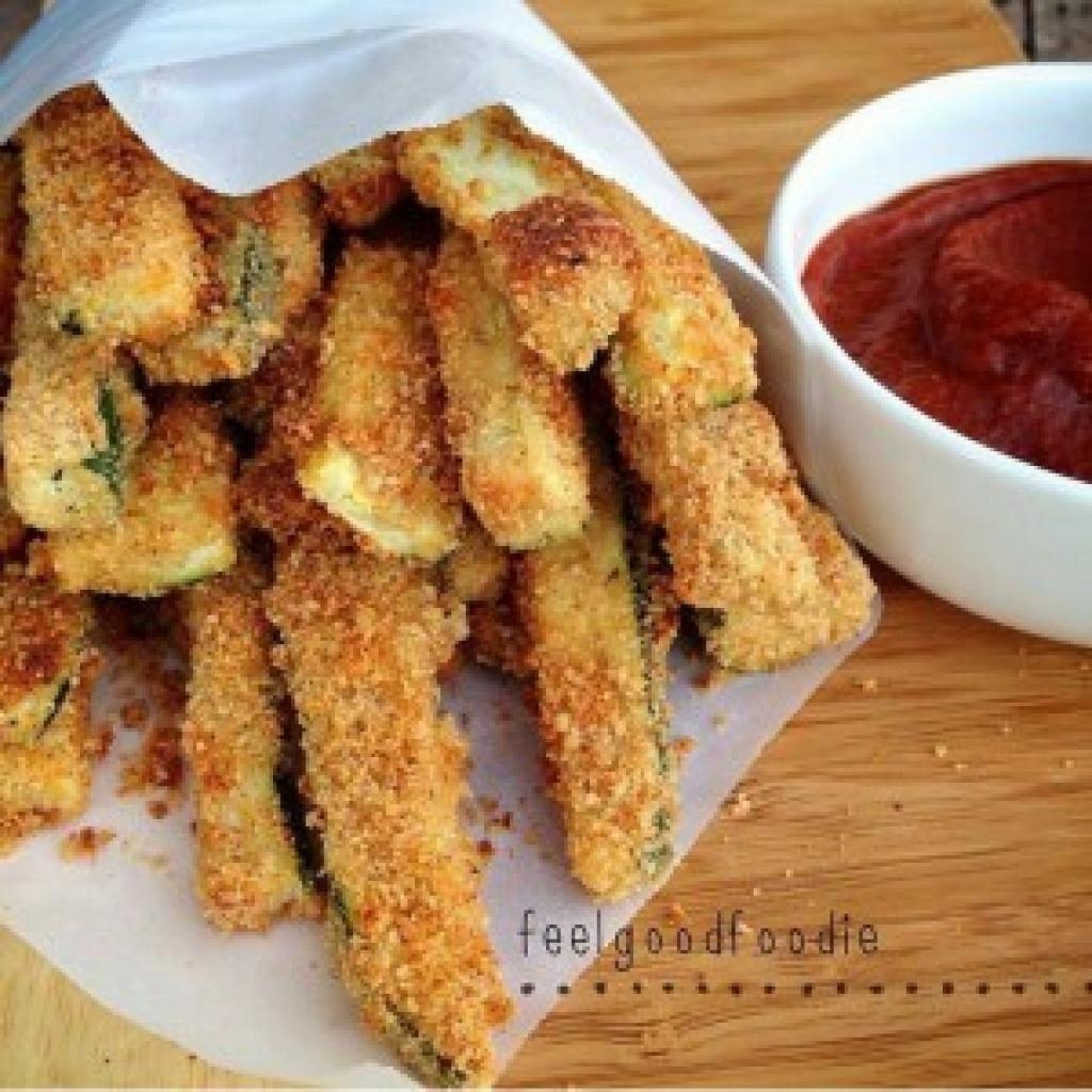 Les frites de courgette: croustillantes, délicieuses et bonnes pour la santé!