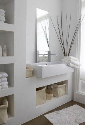 handdoeken opbergen badkamer - Google zoeken | Badkamer | Pinterest ...