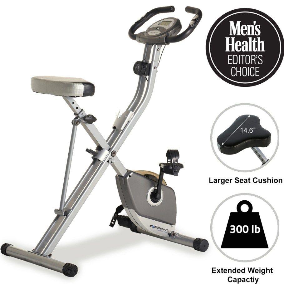 Exercise Bike 300 Lb Weight Capacity In 2020 Biking Workout Folding Exercise Bike Upright Exercise Bike