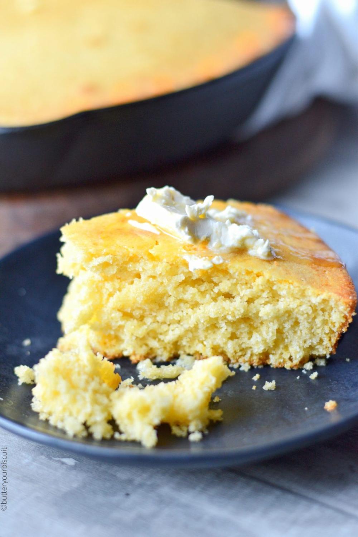 Sweet Honey Cornbread Recipe Butter Your Biscuit Recipe In 2020 Honey Cornbread Cornbread Butter Corn Bread Recipe