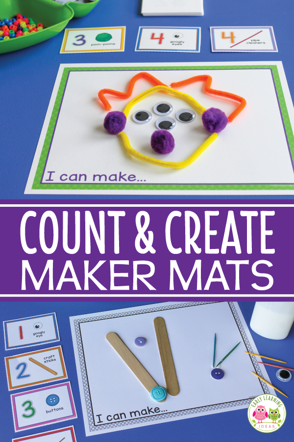 Counting Activity for Preschool and Prek STEAM Count