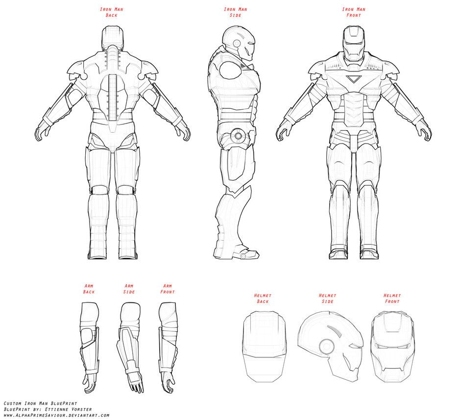 suit blueprints
