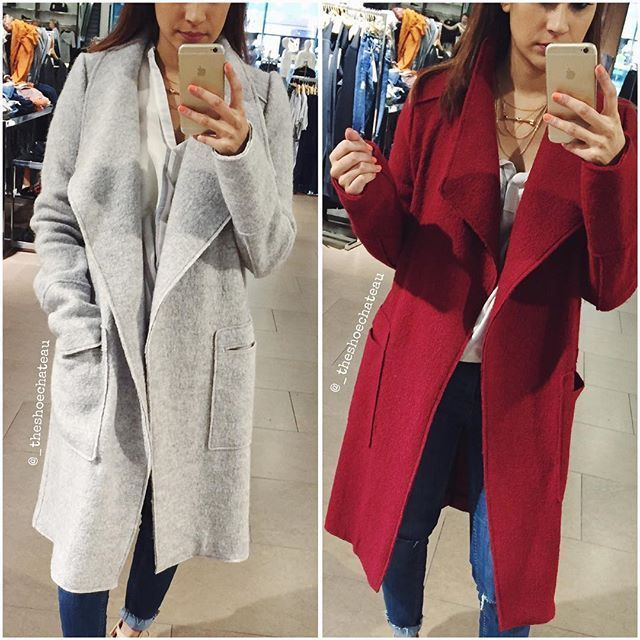ZARA WOOL COAT LIGHT GREY SIZES XS S M L XL REF.1255/230 #ZARA ...