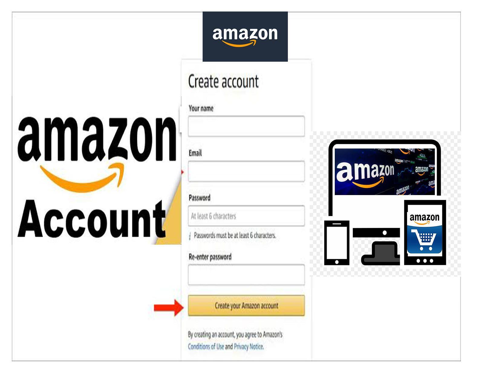 Amazon Account Create Amazon Account in 2020 Amazon