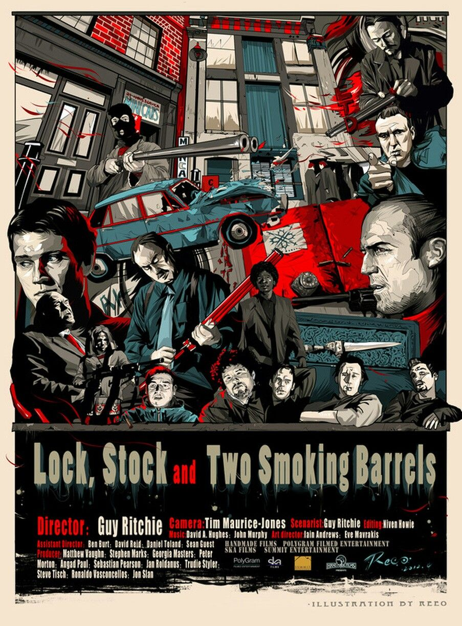 Lock, Stock, And Two Smoking Barrels | Am I The Only One That Loved... |  Pinterest | Barrels, Gangster Films And Films Pictures