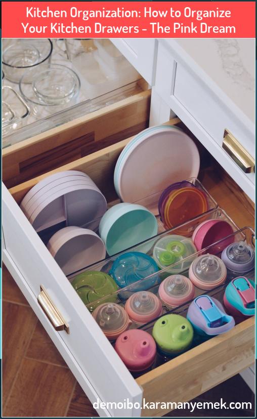 Kitchen Organization How to Organize Your Kitchen Drawers ...