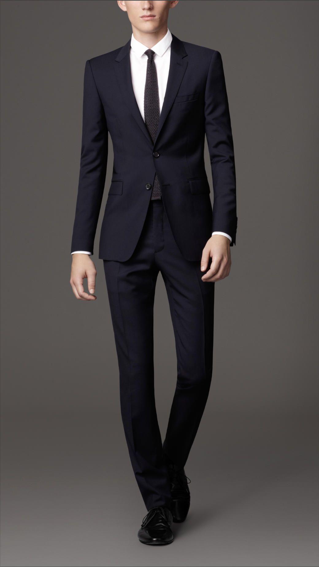 Slim Fit Virgin Wool Suit | Burberry | MEN'S FASHION | Pinterest ...