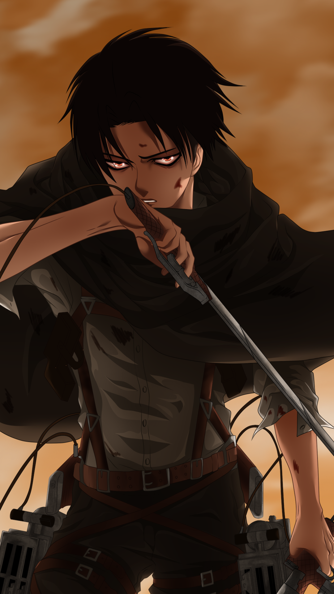 Levi Attack On Titan Wallpaper Attack On Titan Attack On Titan Anime Anime Backgrounds Wallpapers