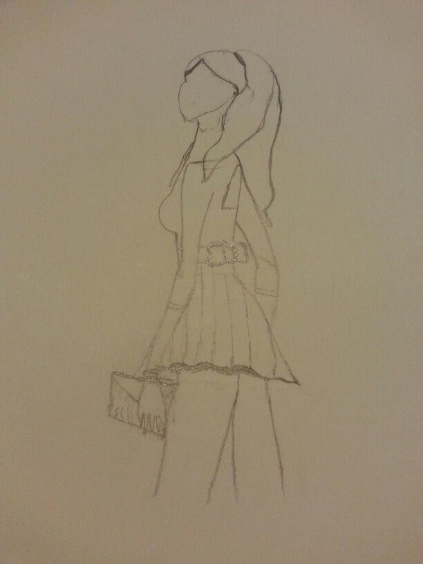 Outfit drawling of the day