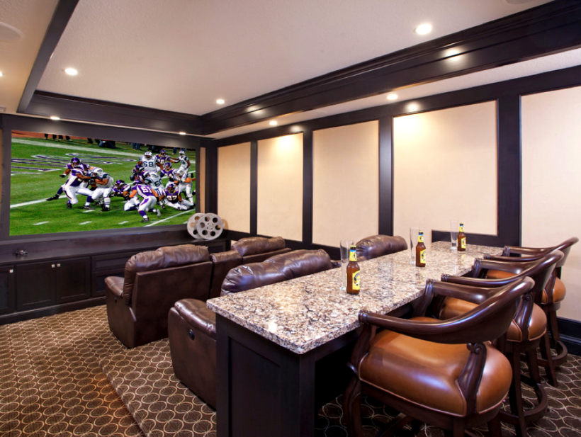 21 Basement Home Theater Design Ideas Awesome Picture Theater