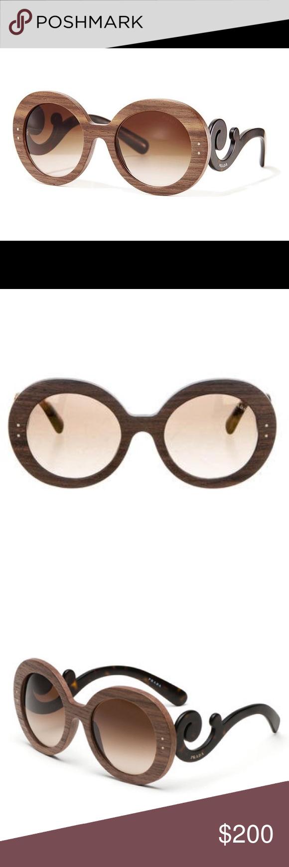 8b4c999a03a4a get prada baroque round sunglasses nordstrom 3025e 93504  closeout nwot  prada pr 27rs baroque womens sunglasses a4172 e5675
