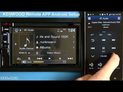 KENWOOD Remote App Setup for Android on 2017 Multimedia Receivers