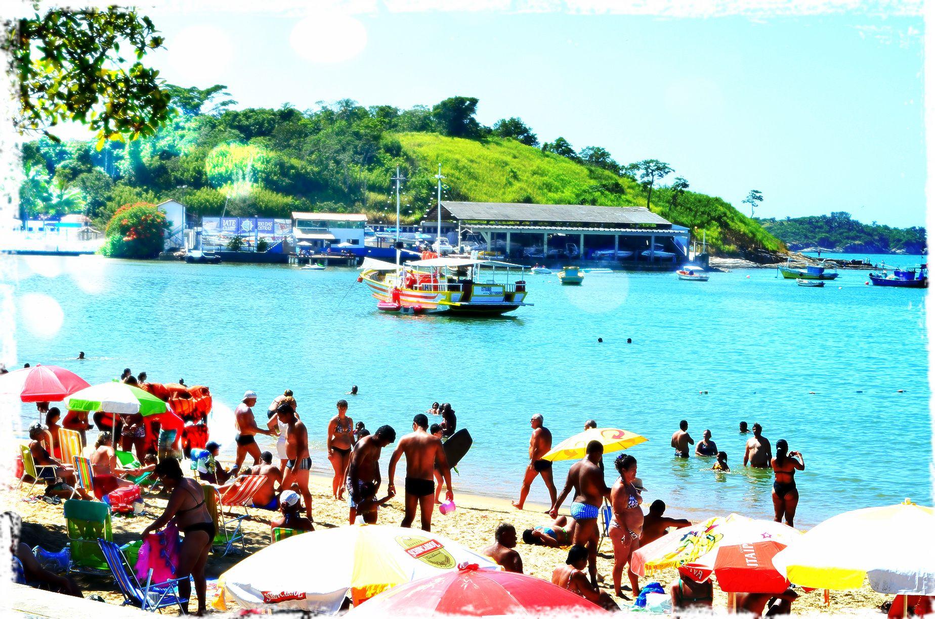 Praia do centro Rio das Ostras - RJ