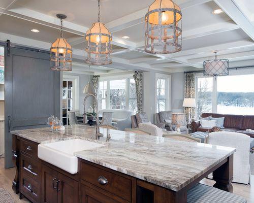 Best Fantasy Brown Granite Kitchen Remodel Transitional 400 x 300