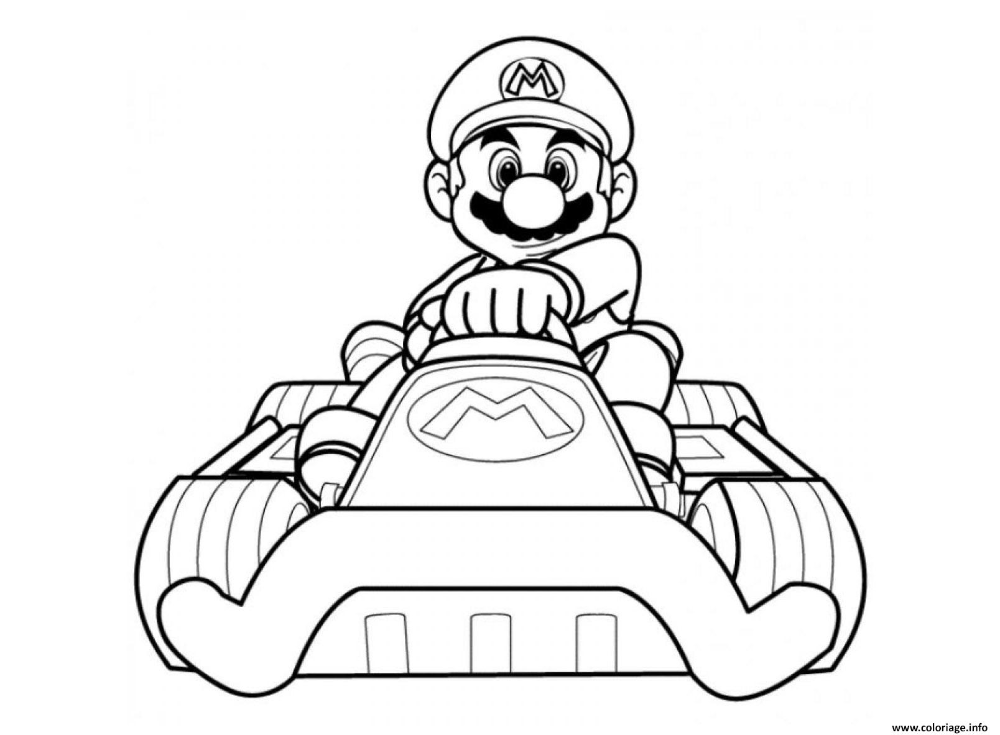 Mario Kart Bowser Mario Coloring Pages Super Mario Coloring Pages Castle Coloring Page