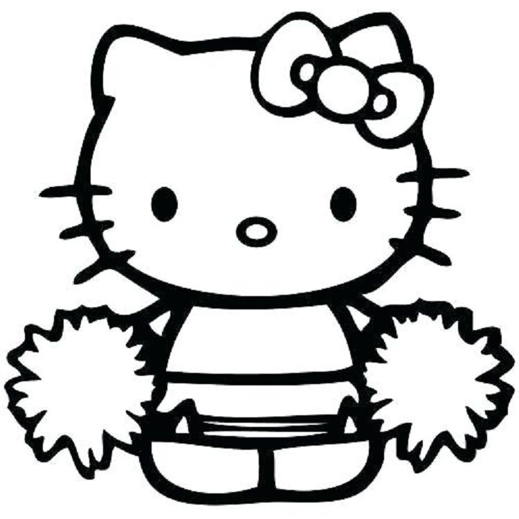 Hello Kitty Cheerleader Coloring Pages Hello Kitty Colouring Pages Hello Kitty Coloring Kitty Coloring