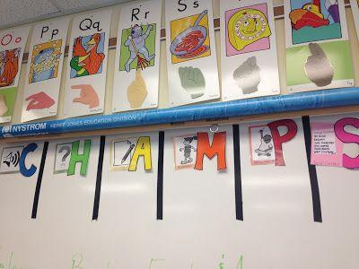 Champs for whiteboard classroom design school ideas behavior interventions th also best grade images activities decor rh pinterest