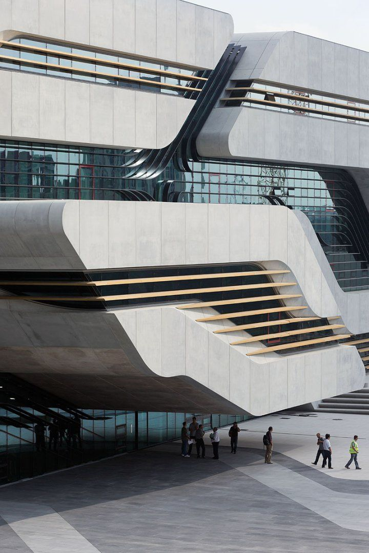 Modern Architecture Zaha Hadid pierresvives - architecture - zaha hadid architects | modern