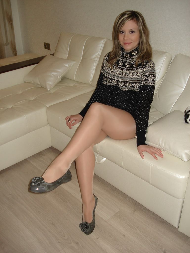 A girls pantyhose